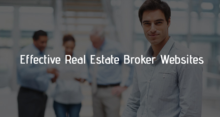 Real estate broker websites